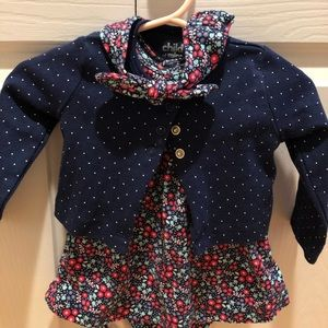 Carter's baby girl outfit
